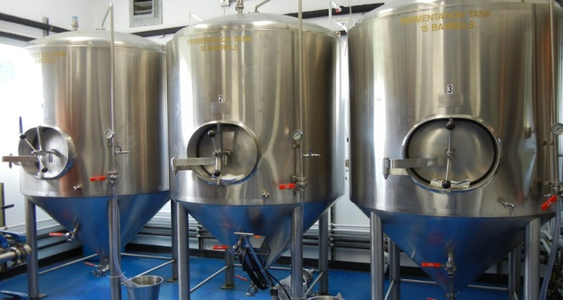 The new brewery is a seven-barrel system, which has a 14-keg capacity. Photo by Catskill Eats