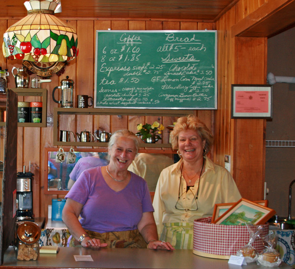 Deb Eklund and Holly Augi are the partners behind the new venture. Photo by Catskill Eats
