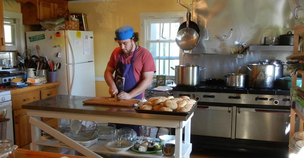In the Kitchen, on the Farm, with Heather Ridge Chef Rob Handel ...