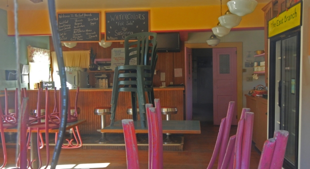 The East Branch Cafe closed in March. Photo by Catskill Eats