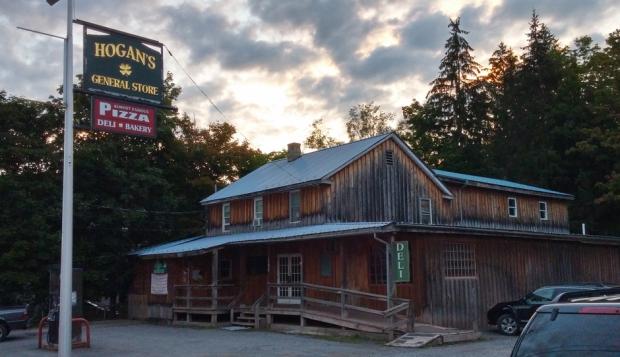 The Andes General Store, shown here in August 2015, before renovations began. Photo by Catskill Eats