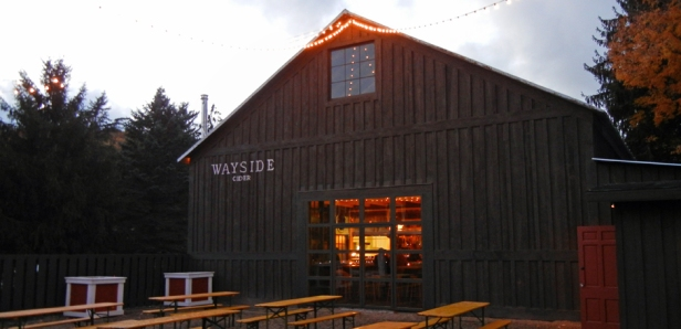 The tap room and production facility share a barn formerly known as the Decker building in Andes. Photo by Catskill Eats